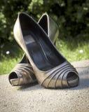 Zapatos de las señoras Fotografía de archivo