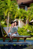 Pares em férias fotos de stock royalty free
