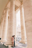 Pares em Roma Fotos de Stock Royalty Free