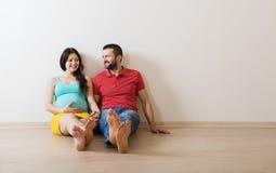Pares embarazadas Fotos de archivo