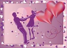 Pares en amor Imagenes de archivo