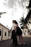 Pares en amor Foto de archivo