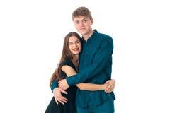 Pares en el amor que se divierte Imagen de archivo libre de regalías