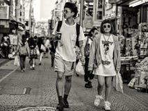 Pares en Japón fotografía de archivo libre de regalías