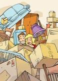 Pares en nuevo hogar Fotografía de archivo libre de regalías