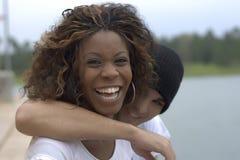 Pares felices Imagen de archivo libre de regalías