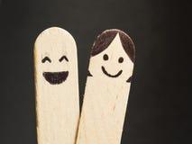 Pares felices Imagen de archivo