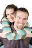 Pares felices jovenes Imagen de archivo libre de regalías