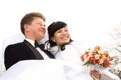Pares felizes Imagens de Stock Royalty Free
