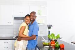Pares felizes do americano africano Foto de Stock Royalty Free