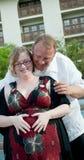 Pares grávidos Fotos de Stock