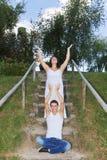 Pares grávidos Imagem de Stock Royalty Free