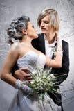 Pares hermosos en amor Imagen de archivo