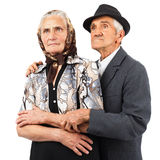 Pares idosos Foto de Stock Royalty Free
