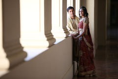 Pares indios hermosos Fotografía de archivo libre de regalías
