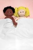 Pares inter-raciais Imagem de Stock Royalty Free
