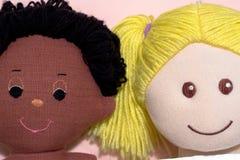 Pares interraciales Fotografía de archivo libre de regalías