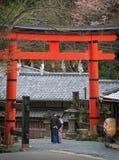 Pares japoneses Foto de archivo libre de regalías