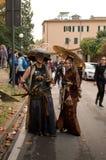 Pares japoneses en los tebeos y los juegos 2017 de Lucca Fotografía de archivo libre de regalías