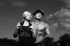 Pares jovenes Fotografía de archivo libre de regalías