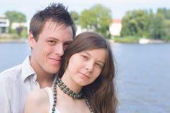 Pares jovenes Foto de archivo libre de regalías