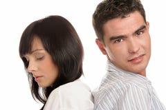 Pares jovenes atractivos Imagen de archivo