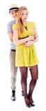 Pares lesbianos romancing Fotografía de archivo libre de regalías