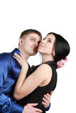 ) Pares Loving Imagens de Stock Royalty Free