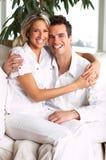 Pares Loving imagens de stock royalty free