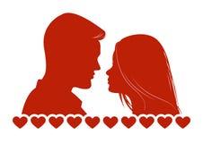 Pares Loving Foto de Stock Royalty Free