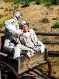 Pares loving, manequins foto de stock royalty free
