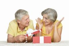 Pares mais velhos felizes Foto de Stock