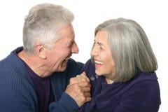 Pares mais velhos felizes Imagem de Stock Royalty Free