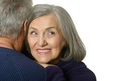 Pares mais velhos felizes Imagens de Stock
