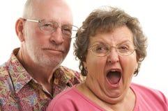 Pares mayores felices Imagenes de archivo