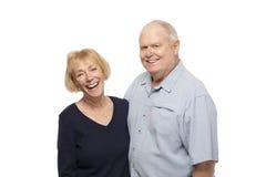 Pares mayores felices Fotografía de archivo