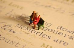 Pares mayores: Memorias   Fotografía de archivo