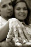 Pares no amor Fotografia de Stock Royalty Free