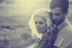 Pares no amor junto nas horas de verão Rebecca 36 Imagens de Stock