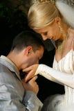 pares Novo-casados imagem de stock