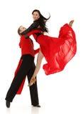 Pares novos de dança. Fotos de Stock