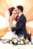 Pares novos do casamento Foto de Stock Royalty Free