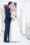 Pares novos do casamento Imagens de Stock