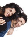 Pares novos felizes Imagem de Stock Royalty Free