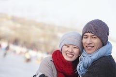Pares novos fora no Pequim Imagens de Stock