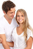 Pares novos no amor imagens de stock royalty free
