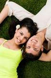 Pares novos no amor Fotos de Stock Royalty Free