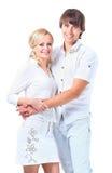 Pares novos românticos Imagem de Stock Royalty Free