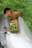 pares Nuevo-casados Fotografía de archivo libre de regalías