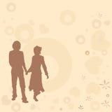 Pares, projeto do Valentim Imagem de Stock